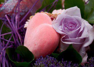 holder bouquets rattan 20cm 3