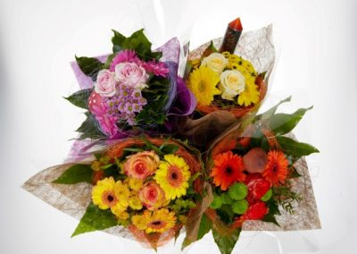 holder bouquets sizal 15cm new year 2